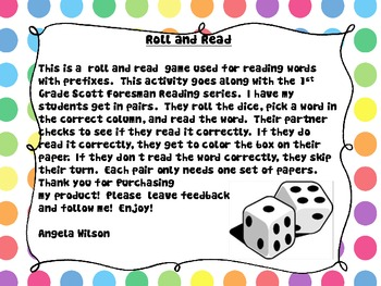 ROLL and READ Prefixes