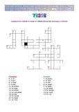 ROMANIAN - Test - Common Verbs Crossword FREEBIE