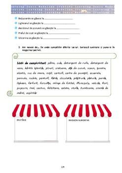 ROMANIAN - Story-based Worksheet - Giant Soap Bubbles