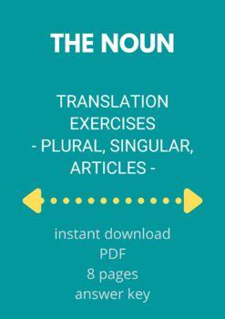 ROMANIAN - Translation - The noun