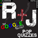 ROMEO AND JULIET 5 Pop Quizzes (Created for Digital)