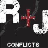 ROMEO AND JULIET Conflict Graphic Analyzer - 6 Types of Conflict