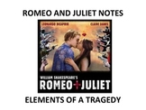 ROMEO AND JULIET: ELEMENTS OF A TRAGEDY POWER POINT