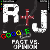 ROMEO AND JULIET Fact vs Opinion Activity (Created for Digital)