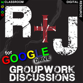 ROMEO AND JULIET Groupwork & Discussion (Created for Digital)