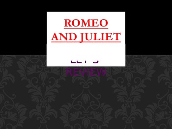 ROMEO AND JULIET POWERPOINT REVIEW