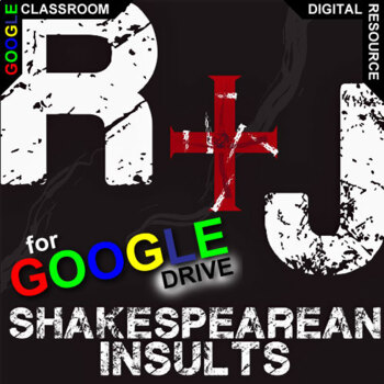 ROMEO AND JULIET Shakespearean Insults (Created for Digital)