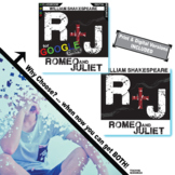 ROMEO AND JULIET Unit Novel Study - Literature Guide (Print & Digital Included)