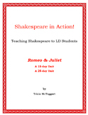 ROMEO & JULIET ~ Shakespeare for LD Students ~ in Action!