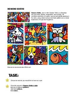 cubism worksheet kidz activities. Black Bedroom Furniture Sets. Home Design Ideas