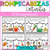 ROMPECABEZAS DE LECTURAS/ COMPRENSIÓN DE LECTURA