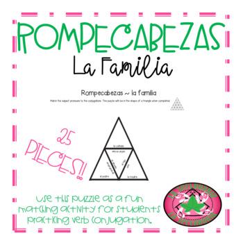 ROMPECABEZAS - La familia