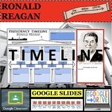RONALD REAGAN GOOGLE SLIDES Presidential Timeline Distance Learning
