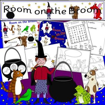 ROOM ON THE BROOM book study unit
