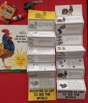 ROOSTER'S OFF TO SEE THE WORLD SEQUENCING CRAFT