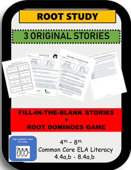 ROOT STUDY--THREE STORIES+ROOT DOMINOES CC