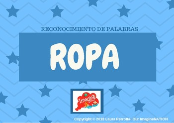 ROPA- Reconocimiento de palabras
