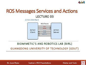03. ROS: Messages, Services, and Actions