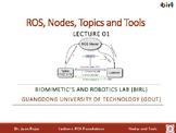 02. ROS: Nodes, Topics, and Tools