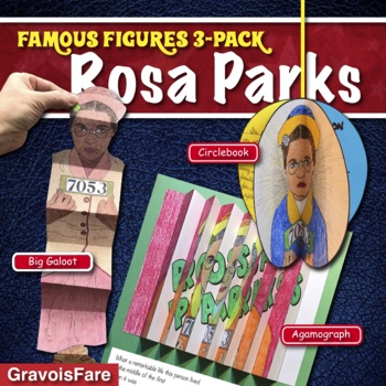 ROSA PARKS ACTIVITIES: 3 Hands-On Projects and Foldable Craftivities