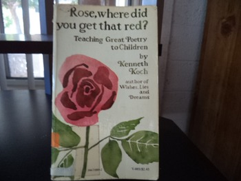 ROSE WHERE DID YOU GET THAT RED    ISBN 0 394 71885 2