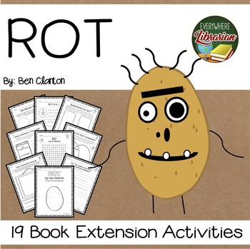 ROT The Cutest in the World by Clanton 19 Book Extension Activities NO PREP