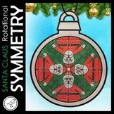 ROTATIONAL SYMMETRY / RADIAL SYMMETRY – CHRISTMAS MATH ART – SANTA CLAUS