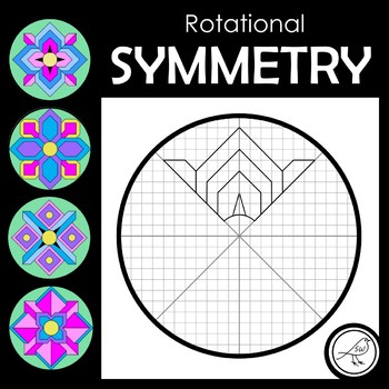 ROTATIONAL SYMMETRY / RADIAL SYMMETRY  -  GEOMETRIC FLOWERS