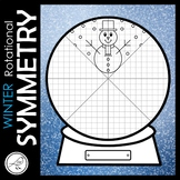 ROTATIONAL SYMMETRY / RADIAL SYMMETRY  -  WINTER SNOW GLOBE