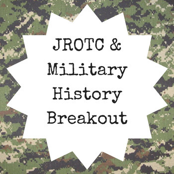 ROTC and Military History Breakout Game (Content Below)