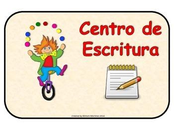 ROTULOS PARA CENTROS CON TEMA DEL CIRCO.