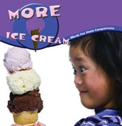 More Ice Cream: Words or Math Comparison  [Interactive eBook]