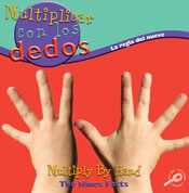 Multiply By Hand: The Nine Facts (Spanish Version) [Interactive eBook]