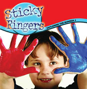 Sticky Fingers: Exploring the Number 5 [Interactive eBook]