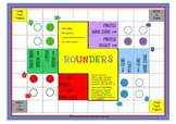 BLANK BOARD GAME - Rounders - for Sight Words, Number Facts or Phonics