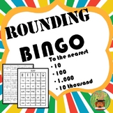 ROUNDING BINGO:  To the nearest 10, 100, 1,000, & 10,000