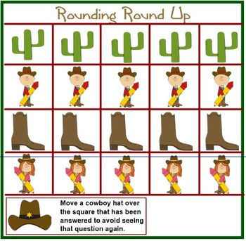 ROUNDING NUMBERS Activity Game