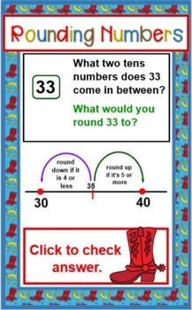 ROUNDING NUMBERS Mini Lesson and Practice