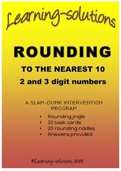 ROUNDING to the nearest TEN - BUNDLED - PROGRAM and 100 Ta