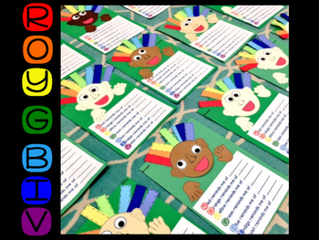ROY G BIV {Craft and Fluency}