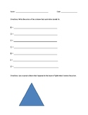 ROY G. BIV (colors of the rainbow) worksheet