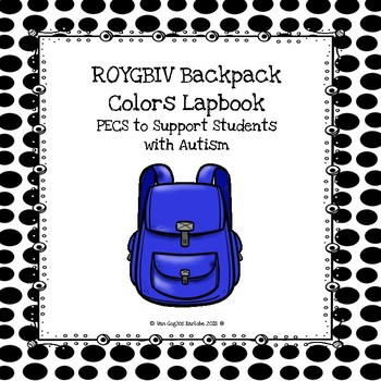 ROYGBIV Colors Lapbook (Backpack Theme)