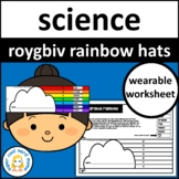 ROYGBIV Rainbow Crown Hats