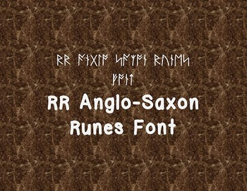 RR Anglo-Saxon Runes Font (Personal Use)