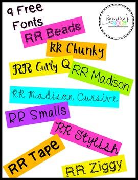 RR Fonts