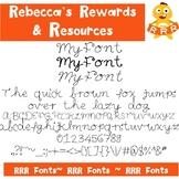 RRR Fonts: Single Font (MyFont)