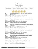 RT script of Five Little Ducks