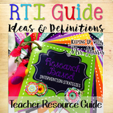 RTI - Intervention Strategies and Definitions