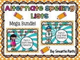 RTI Alternate Spelling Lists Bundle