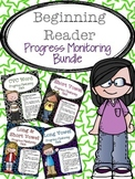 RTI: Beginning Reader Progress Monitoring Bundle